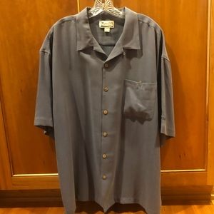 Tommy Bahama men's short sleeve button down